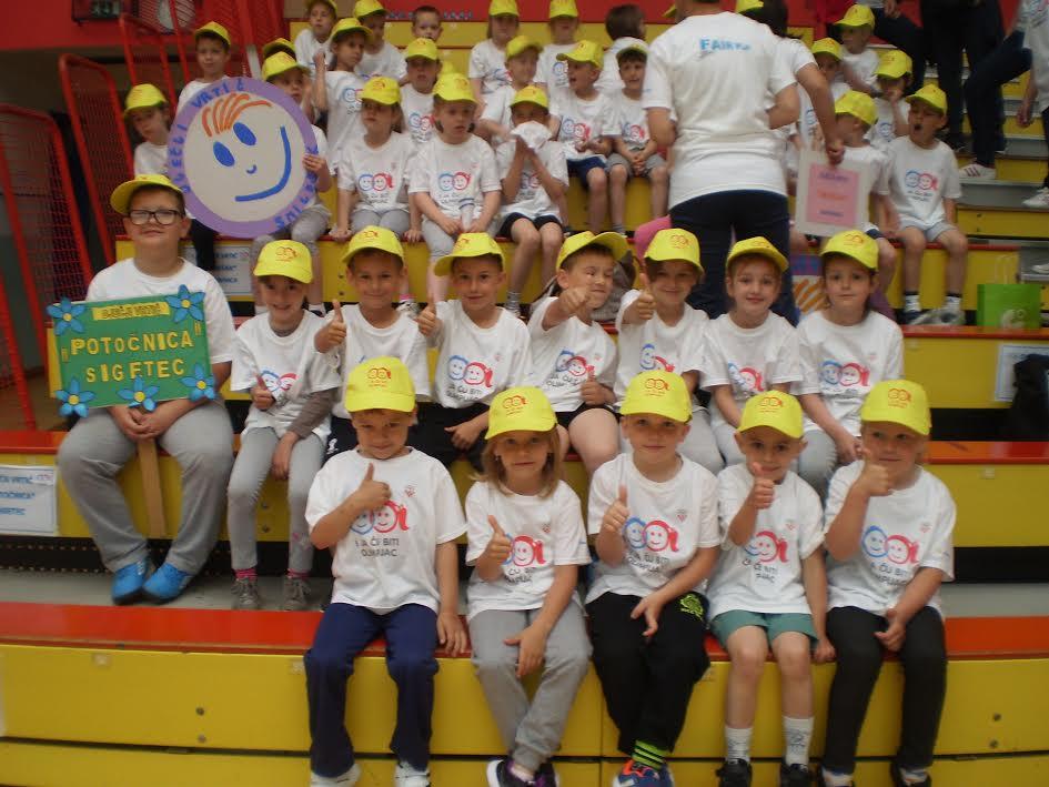 Sudjelovanje na Dječjoj olimpijadi
