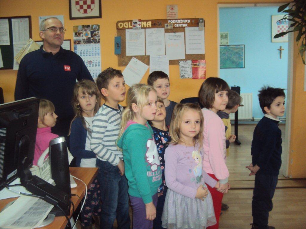 Posjet predškolaraca Državnoj upravi