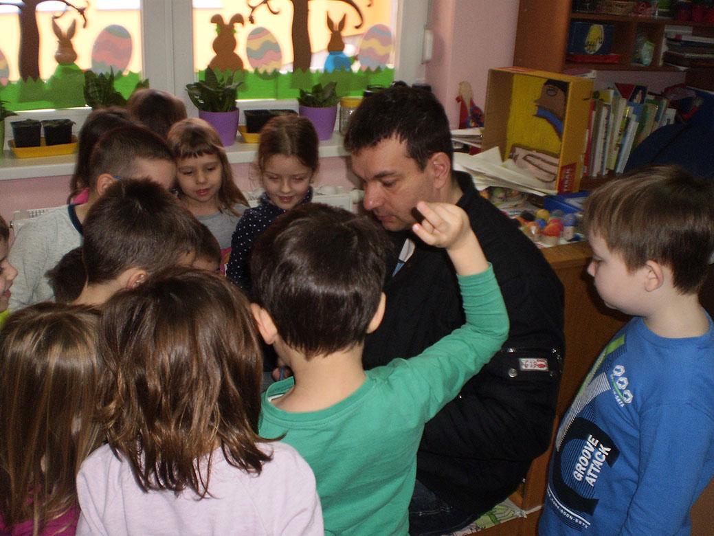 Snimanje razgovora s djecom na temu Uskrs za emisiju različak (RKC)