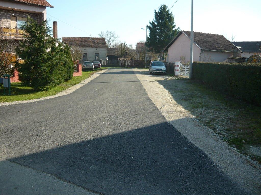 Obnovljene ulice u Peterancu