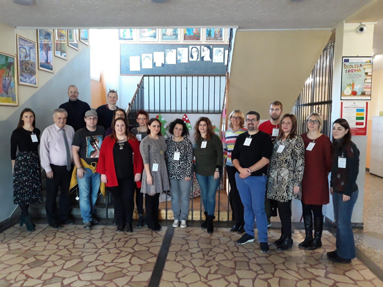 1. Erasmus+ mobilnost partneri iz Estonije, Cipra i Grčke