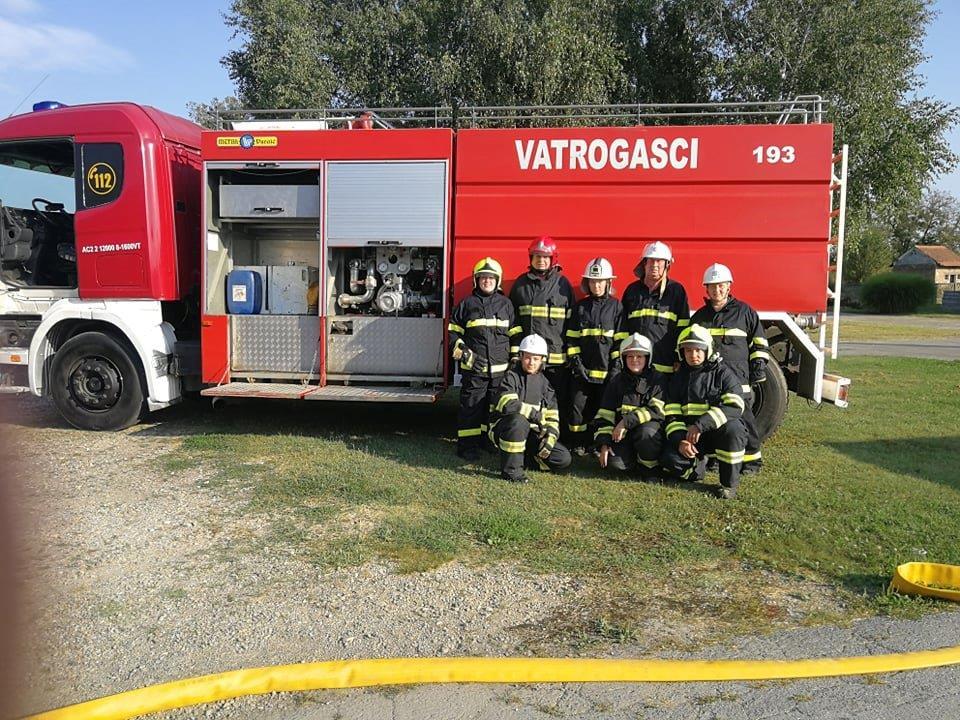 Međunarodna vatrogasna vježba povodom Memorijala Mirko Petrović