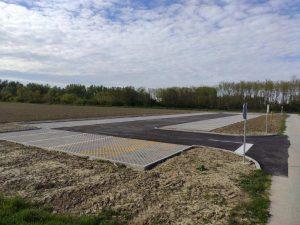 Općina Peteranec uredila novo parkiralište u kod mjesnog groblja u Sigecu