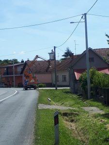 Javna rasvjeta u općini Peteranec