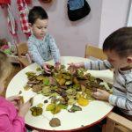Jesenska radionica o lišću u dječjem vrtiću Potočnica Sigetec