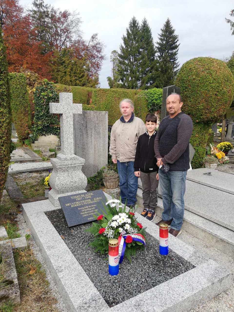 Općina Peteranec obnovila spomenik Tome Blažeka
