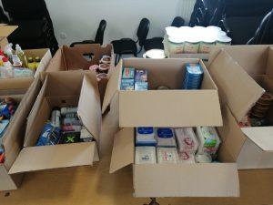 Na području Općine Peteranec skupljena velika količina humanitarne pomoći i dostavljena potrebitima na području Banovine